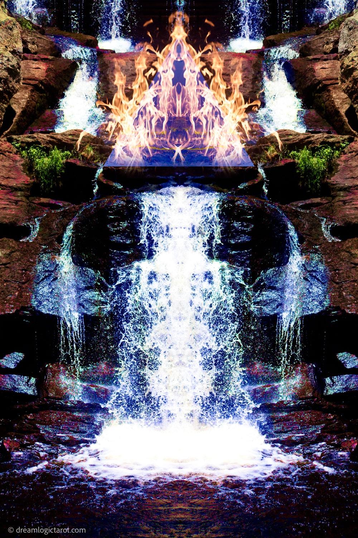 Gidwitz Teth Dream Logic Tarot Art Temperance