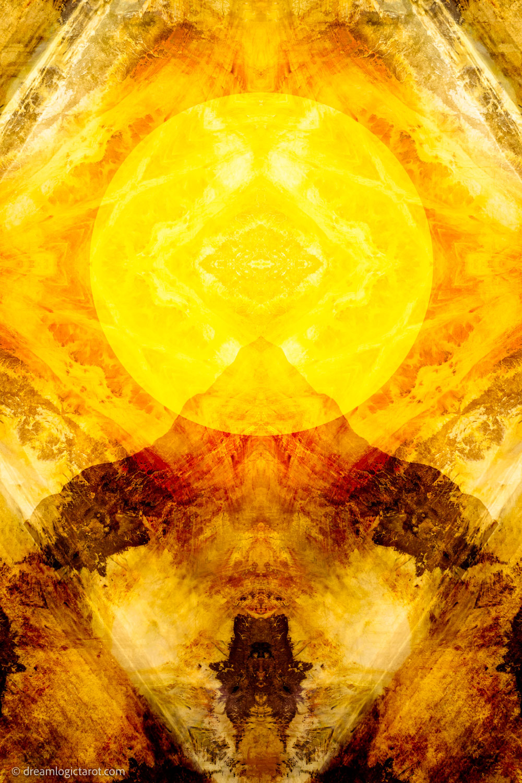 Gidwitz Teth Dream Logic Tarot The Sun