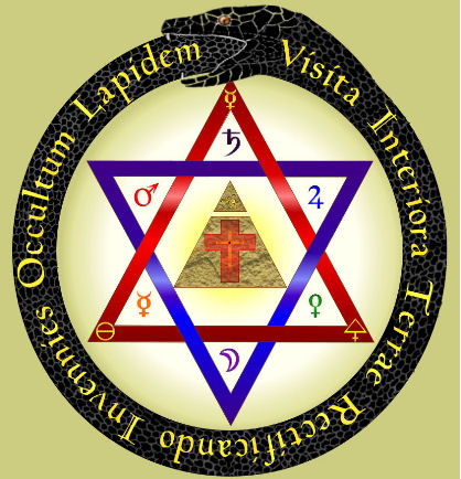 Hermetic Virtues lamen