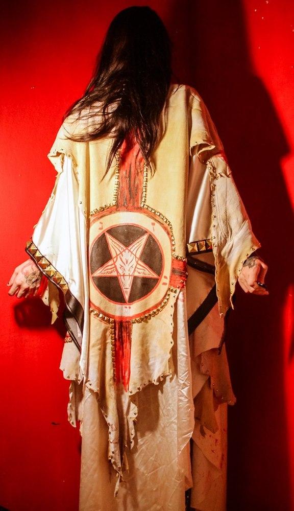 Toxic Vision's Ritual Cloak