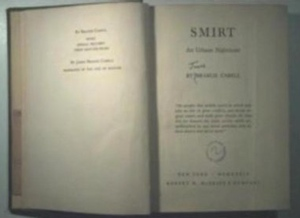 James Branch Cabell's Smirt from R M McBride & Co