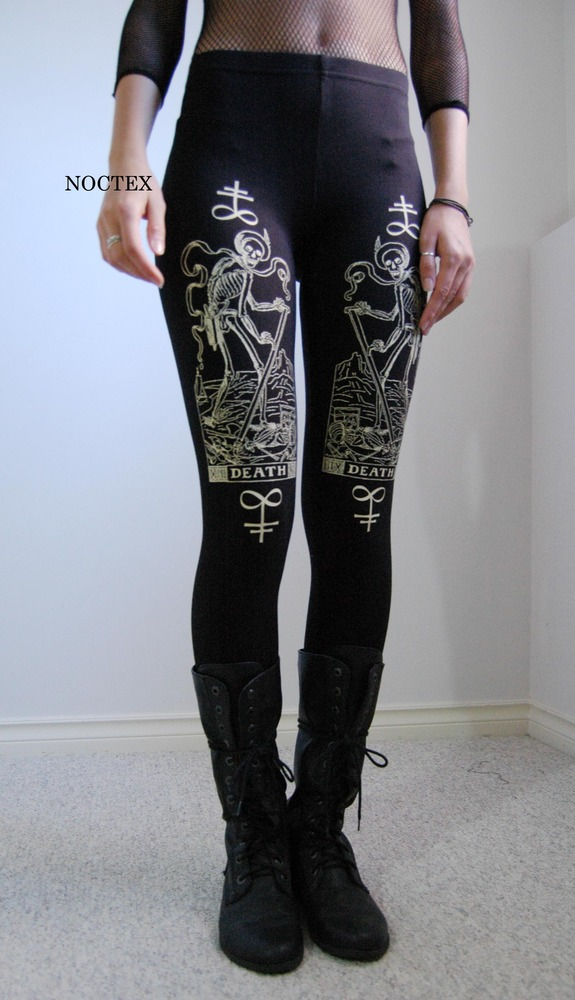 Notctex's Death Tarot leggings