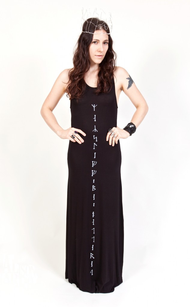 Sisters of the Black Moon's Curse of Busla dress