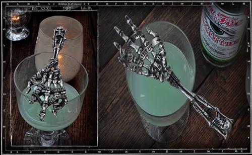 Crazy Pig Designs' Absinthe Perd Nos Fils spoon