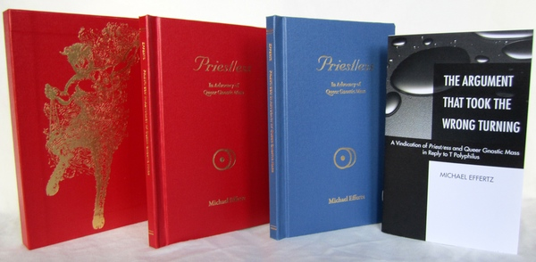 Michael Effertz's Priest/ess released editions from Luxor Media Group
