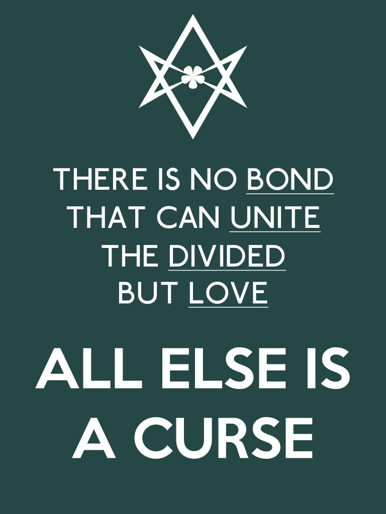 Unicursal UNITE THE DIVIDED poster