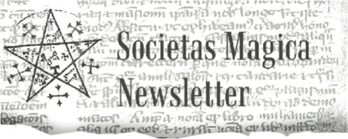 Societas Magica Newsletter for Spring 2013 (PDF)