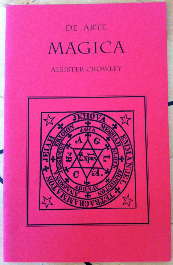 Aleister Crowley's De Arte Magica (Liber CDXIV, Book 414) from Sure Fire Press and Holmes Publishing Group