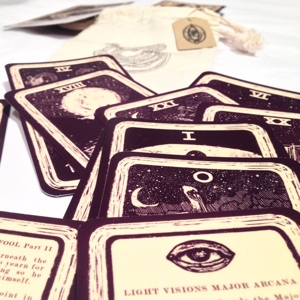 James R Eads' Light Visions Major Arcana Tarot Deck 2