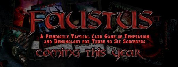 Faustus the card game from Talking Skull