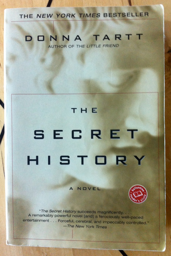 Donna Tartt's The Secret History from Ballantine