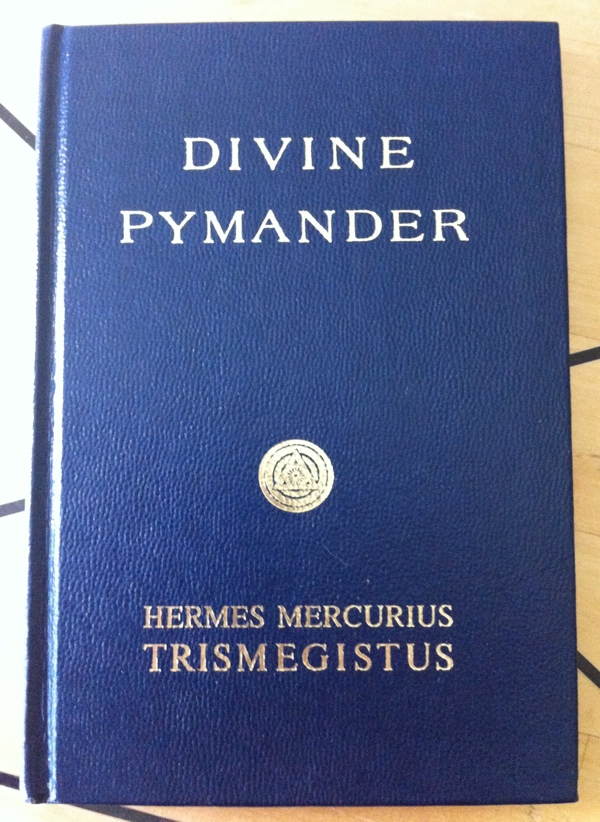 Hermes Mercurius Trismegistus and Paschal Beverly Randolph's Divine Pymander from Yogi Publication Society