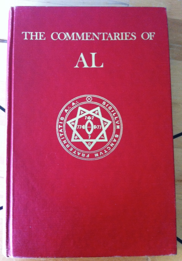 Marcelo Ramos Motta and Aleister Crowley's The Commentaries of AL from Weiser Books