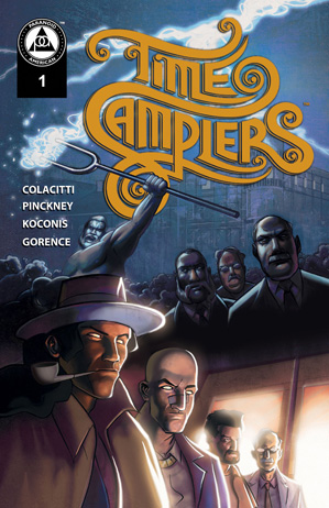 Time Samplers, Issue 1, cover