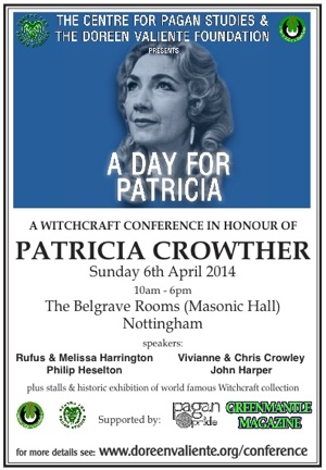 A Day for Patricia Crowther conference 2014
