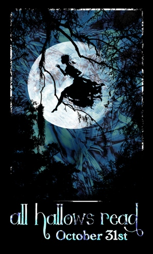 All Hallows Read 2013 fairy witch poster