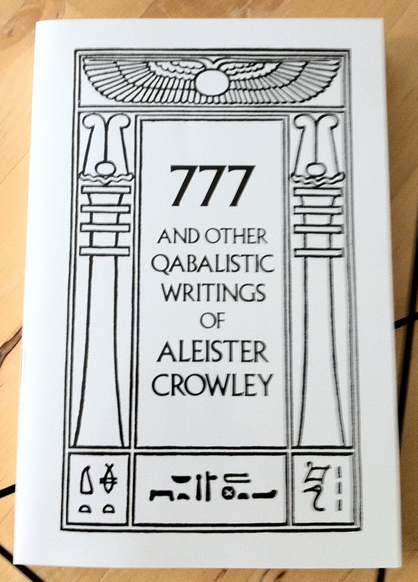 Aleister Crowley 777 from Weiser Books