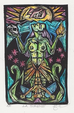 Kyle Fite artwork La Sirene