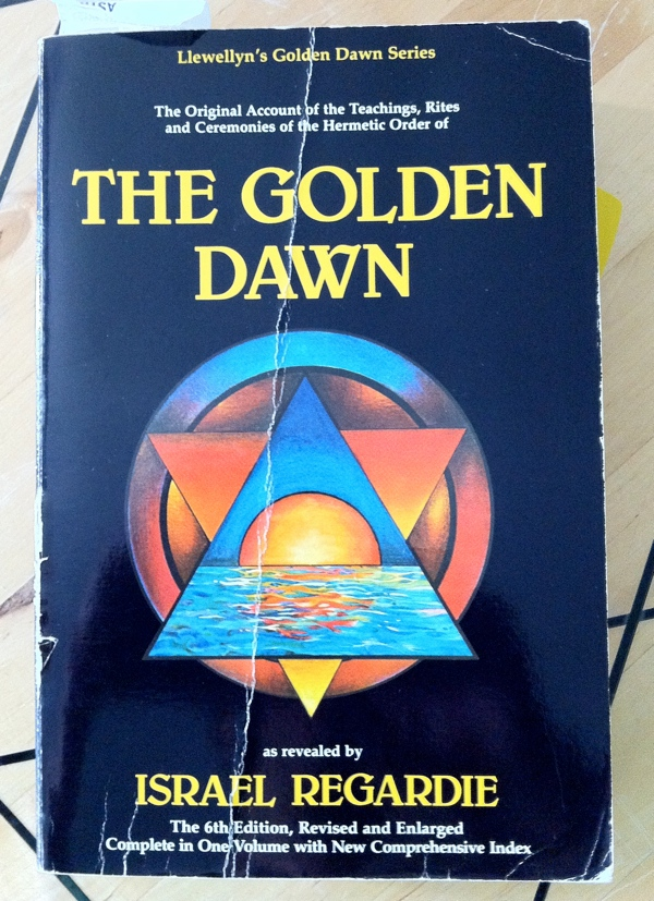 Israel Regardie's The Golden Dawn from Llewellyn Publications