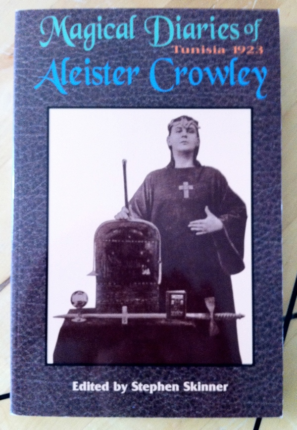 Stephen Skinner's The Magical Diaries of Aleister Crowley from Weiser Books