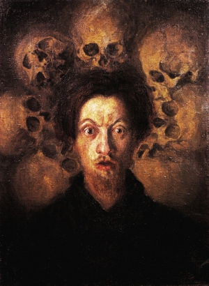 Music the Dead Can Hear at Observatory Luigi Russolo Self-portrait with Skulls