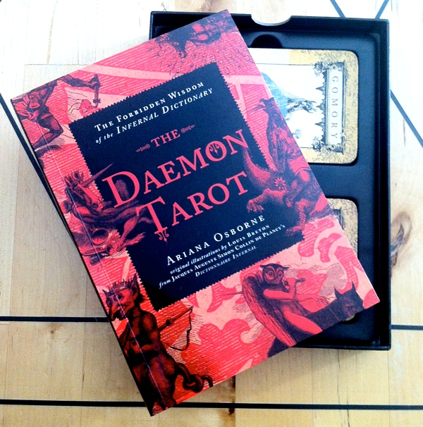 Ariana Osborne The Daemon Tarot book and cards from Sterling Ethos