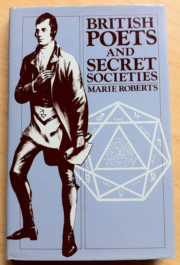 Marie Roberts British Poets and Secret Societies from Barnes and Noble Books