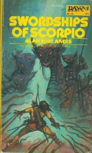 Alan Burt Akers Swordships of Scorpio