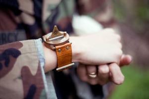 Pandeia Compass Sundial Watch