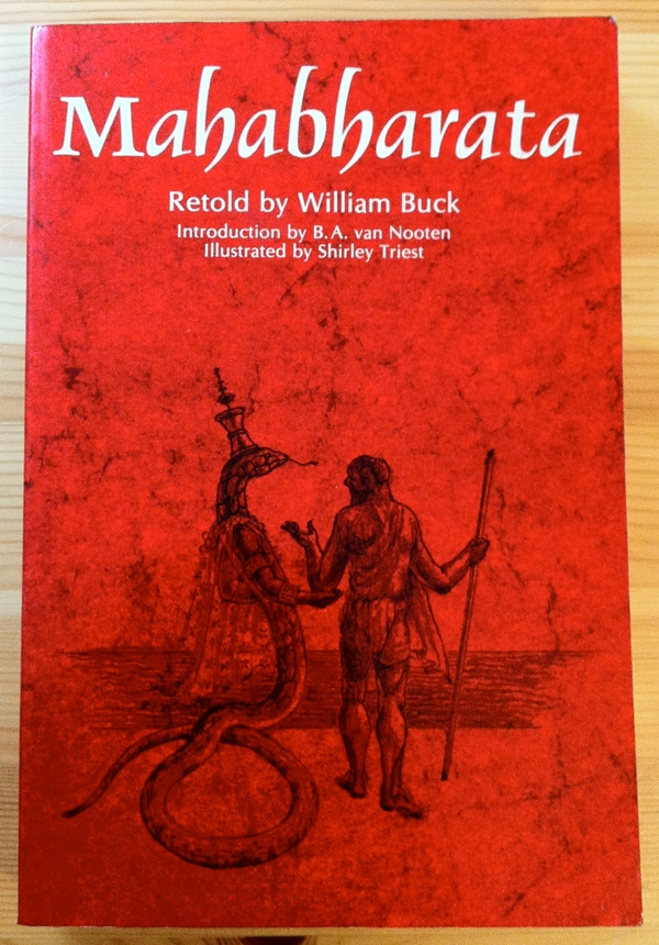 William Buck Mahabharata from University of California Press