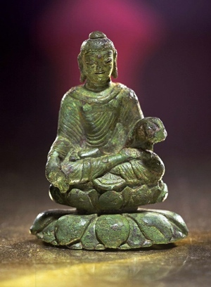 Helgo treasure Viking age Buddha