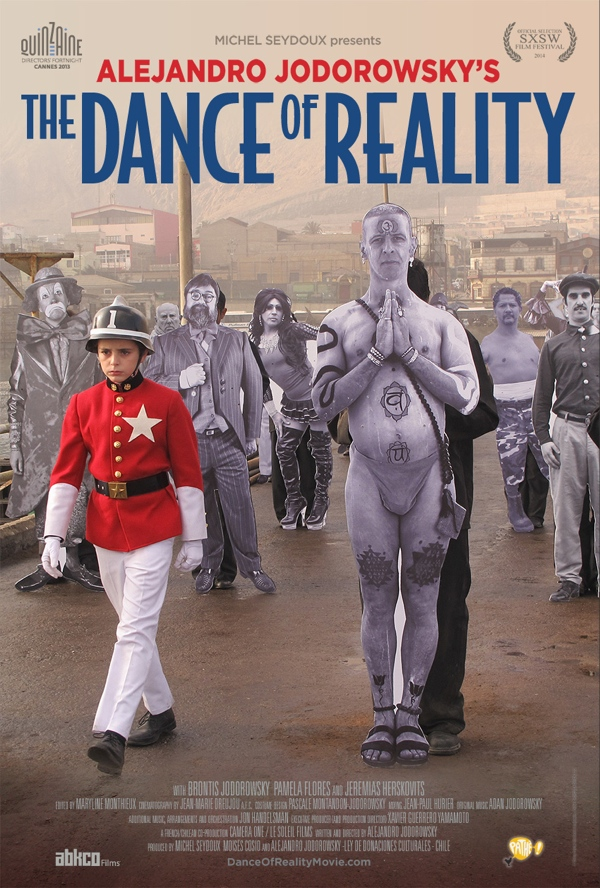 Alejandro Jodorowsky The Dance of Reality poster