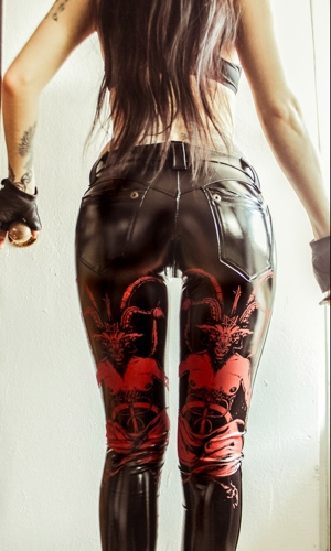 Toxic Vision Baphomet pants