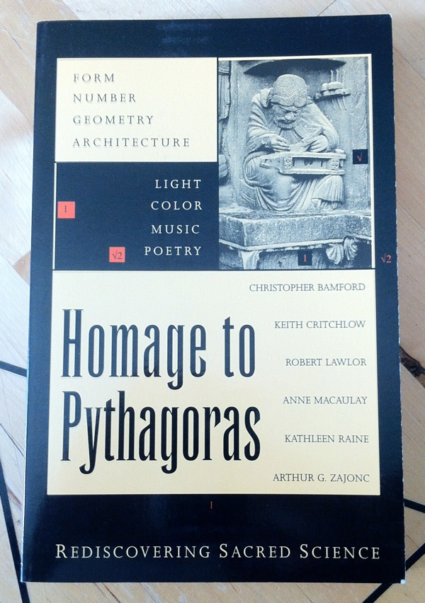 Christopher Bamford Homage to Pythagoras from Lindisfarne Press