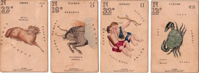 Charles Hodges Constellation cards at World of Playing Cards