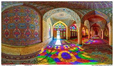 Omid Jafarnezhad Nasir al-Mulk pink mosque