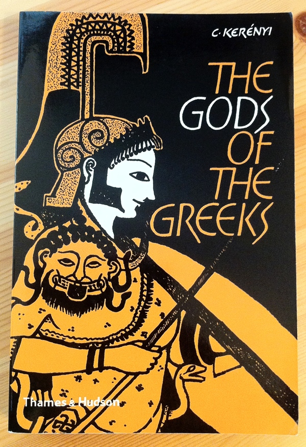 Carl Kerényi The Gods of the Greeks from Thames & Hudson