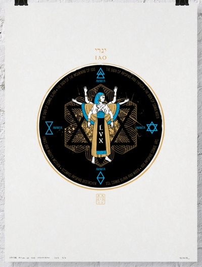 Mary MacGregor Reid Ritual of the Hexagram