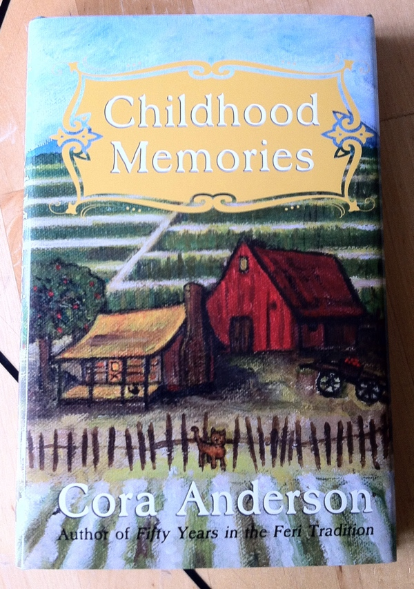 Cora Anderson Childhood Memories from Acorn Guild Press
