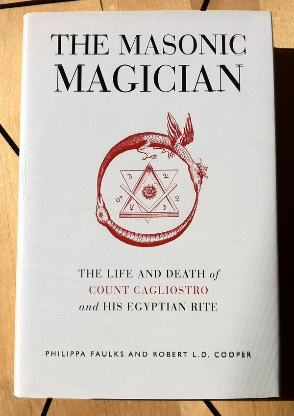 Philippa Faulks Robert L D Cooper The Masonic Magician from Watkins Publishing