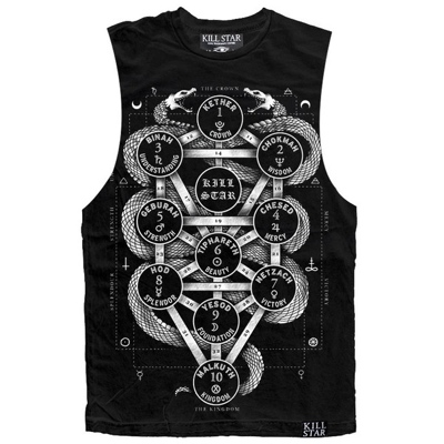 Killstar kabbalah tree of life tank
