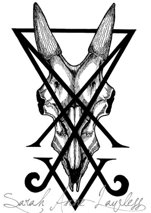 Sarah Anne Lawless Lucifer's sigil