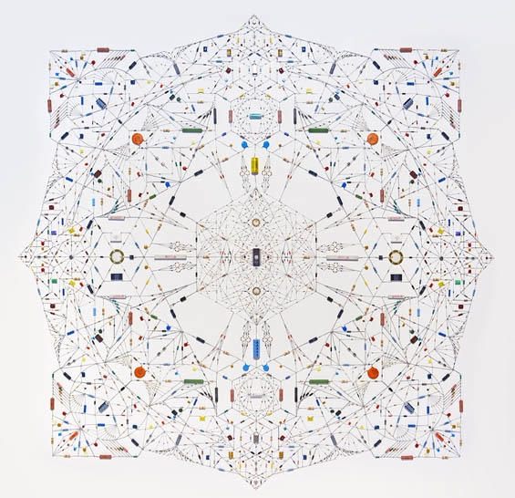 Leonard Ulian's Technological Mandalas