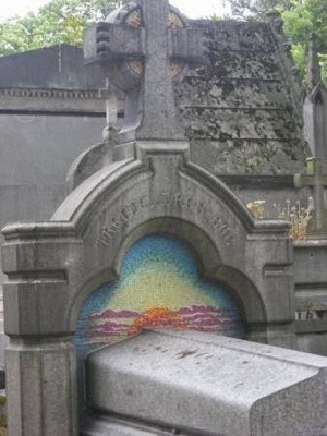 MacGregor Mathers tomb in Paris 2014