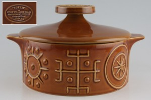 Portmeirion Totem brown tureen from Chinasearchworld