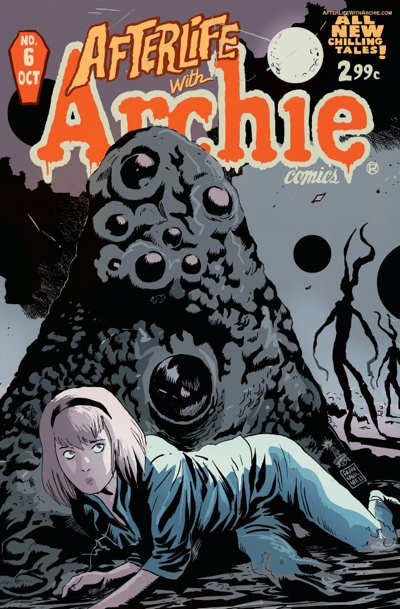 Afterlife With Archie issue 6 cover