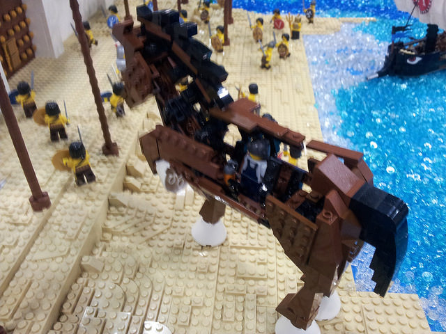 VirtuaLUG's Odyssey: Pictures of the Odyssey display by VirtuaLUG at Brickworld 2014