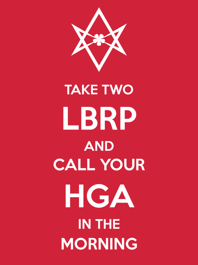 Unicursal CALL YOUR HGA Poster