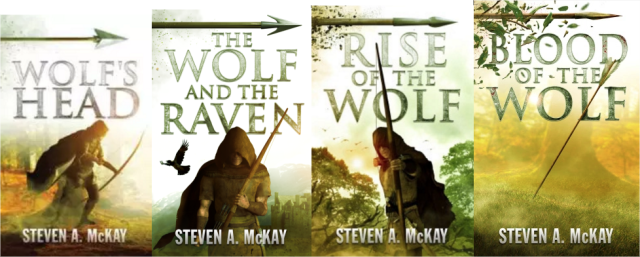 Steven A McKay The Forest Lord series
