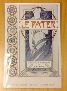 Century Guild Mucha Le Pater Mini-poster